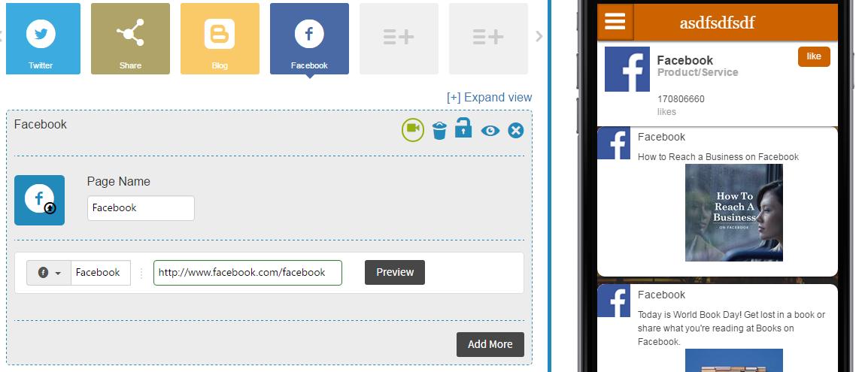 Wie kann ich Facebook-Timeline zu meiner App hinzufügen?