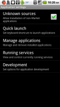 Manage Applications